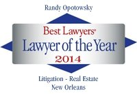 Best Lawyers Lawyer of the Year Randy Opotowsky
