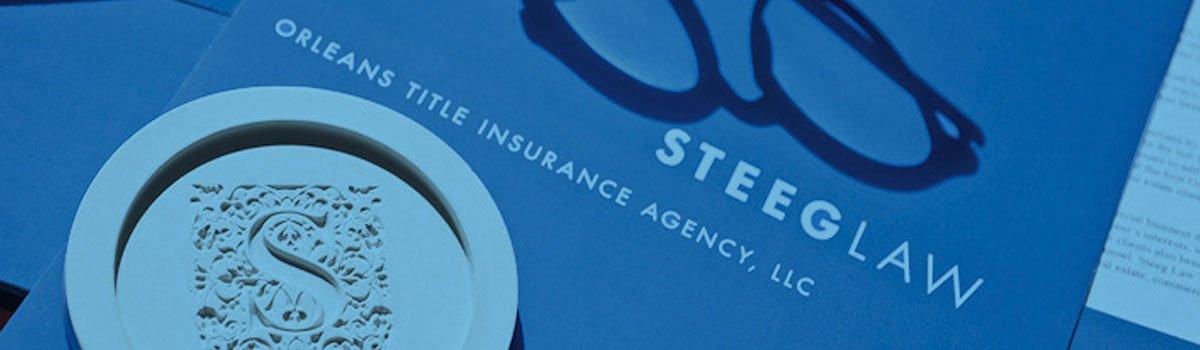 Title Law Orleans Title Insurance Agency | Steeg Law