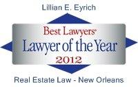 Best Lawyers Lawyer of Year Lillian Eyrich