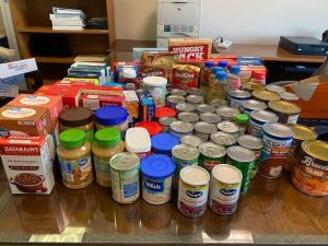 food donations for Adopt a Family